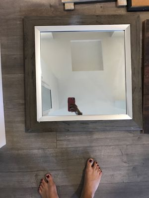 Square wooden wall mirror for Sale in Los Angeles, CA