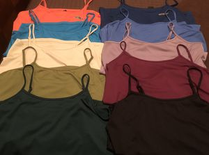 New! (10) Camisole/Tank Tops, Size 18/20, Multiple Colors - under $5 each! for Sale in Pembroke Pines, FL