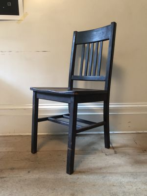 Designer vintage wooden chair for Sale in New York, NY
