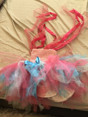 One year baby trolls tutu dress for party for Sale in Glendale, CA