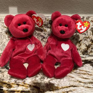 2 Valentina Beanie Babies for Sale in Puyallup, WA