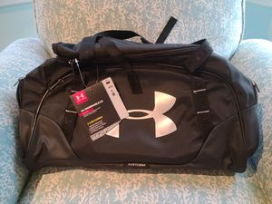 Under Armour duffle bag NWT for Sale in West Islip, NY