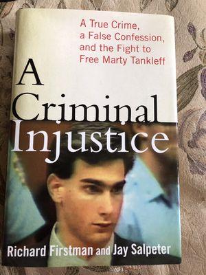 Criminal Injustice book for Sale in Selden, NY