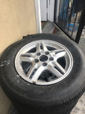 4 Rims for CR-V 2000 (FREE) Come to get them for Sale in The Bronx, NY