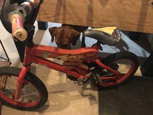 Kid's Lightning McQueen Bike for Sale in Germantown, MD