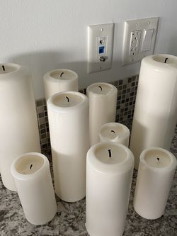 West Elm Pillar Candles for Sale in Los Angeles,  CA