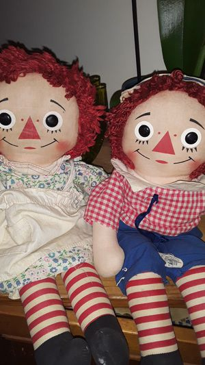 Vintage Raggedy Ann and Andy for Sale in VLG WELLINGTN, FL