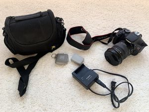 Canon EOS Rebel T3i body and Sigma Lens bundle for Sale in Norwalk, CT