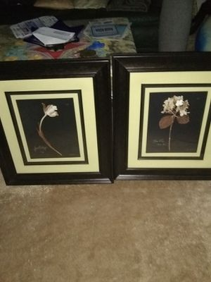 2 matching wall art for Sale in Alexandria, VA