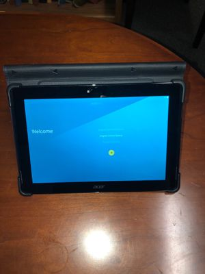 "10.1"" Acer Tablet with Nice KickStand Case . Like New Iconia A3-A30 for Sale in Florence, KY"