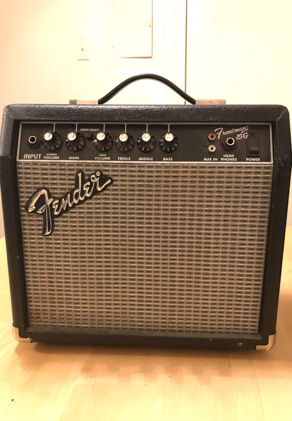 Fender frontman guitar amp