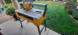 24 inch Tile saw. Good blade.Strong. for Sale in Sacramento, CA