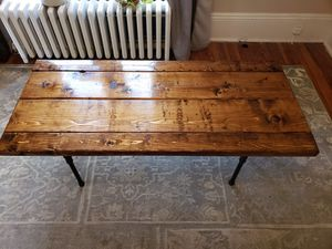 Wood coffee table for Sale in Clifton, VA