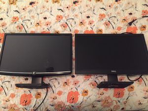 Two working computer monitors for Sale in Greenville, SC