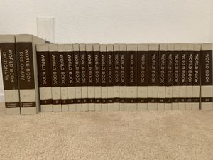 Mint Edition World Book Encyclopedia 1977 Full Set for Sale in Riverside, CA