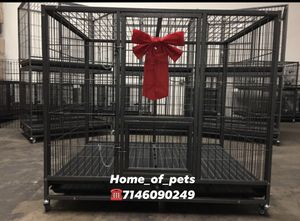 Heavy duty dog pet cage kennel size 50 XL new in box 📦 for Sale in Norco, CA