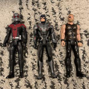 Set Of Marvel Avenger Characters for Sale in Oceanside, CA