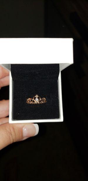 Rose gold tiara Pandora ring for Sale in Mechanicsburg, PA