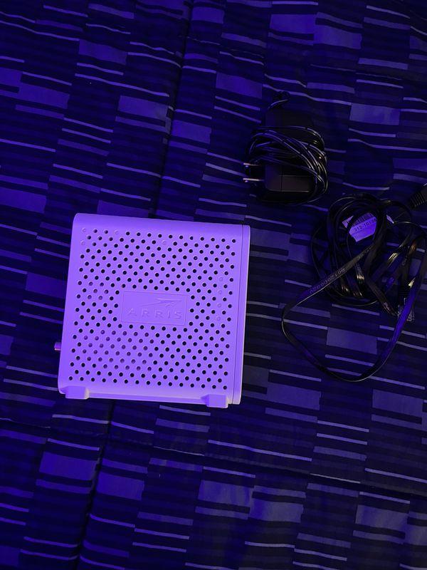 ARRIS - SURFboard 16 x 4 DOCSIS 3.0 Cable Modem - White