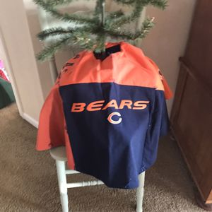 Bears Tree Skirt Made With Recycled Shirts 42 Inches for Sale in Shorewood, IL