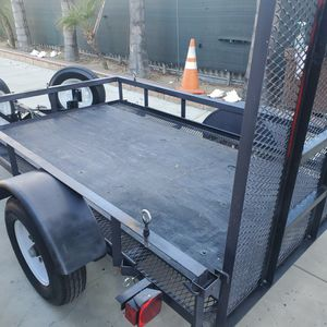 Trailer 2018 (5x8) Title In Hand.$1300.00 for Sale in Chino, CA