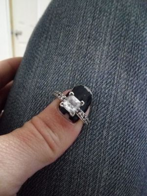 10K White Gold Ring for Sale in Virginia Beach, VA