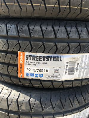 215/70/15 new tires for Sale in Perris, CA