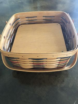 Longaberger Pie Basket Double Handle for Sale in Fort Lauderdale, FL