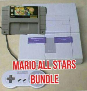 Super Nintendo with Mario all stars for Sale in Miami, FL