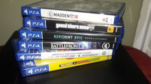 Madden NFL 2018 for Ps4 for Sale in Meridian, MS
