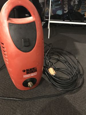 Black & Decker Compact Electric Pressure Washer for Sale in Austin, TX