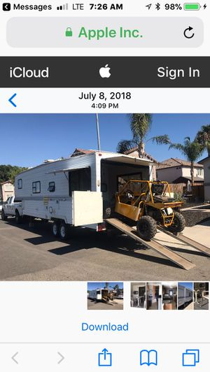 32 foot toy hauler 1998 for Sale in Clovis, CA