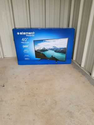 "-New 40"" In. Element 1080p TV- (Non-Smart) for Sale in GILLEM ENCLAVE, GA"