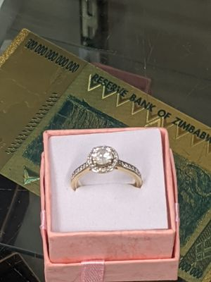 1 CT center diamond! 14kt gold! for Sale in Vancouver, WA