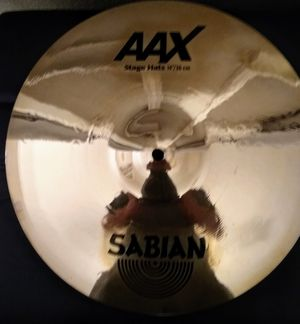 Sabian AAX 14inch Stage Hi Hats for Sale in Clackamas, OR