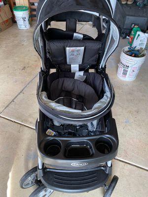 Graco ready2grow doblé stroller for Sale in Sacramento, CA