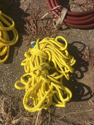Boat jet ski water ski or tube 100 ft tow rope for Sale in Cleveland, OH