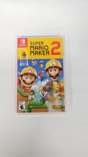 Nintendo Switch Super Mario Maker 2 (779709-18) for Sale in Tacoma, WA