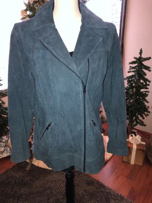 NEW super cute motorcycle style jacket 100% leather for Sale in Hillsboro, OR