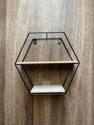 Hexagon decorative shelf for Sale in Virginia Beach, VA