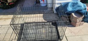 """Medium size dog Crate great condition folds up 36"""" long x 22"""" wide for Sale in Mission Viejo, CA"""