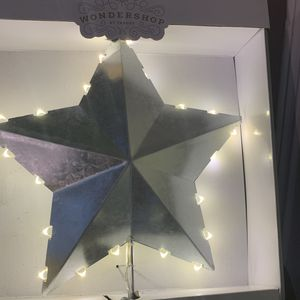 new in box LED christmas tree topper for Sale in Plano, TX