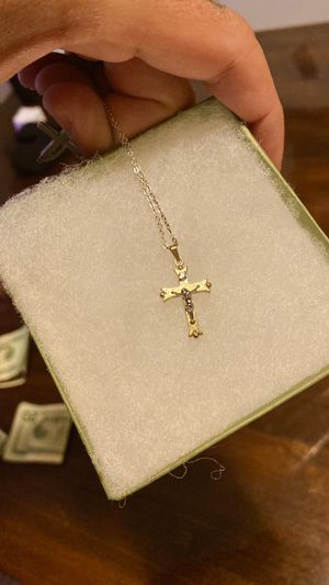 BEAUTIFUL 😍😍🙌🏻!!! SOLID 14k GOLD Crucifix / Cross Pendant! for Sale in Los Angeles, CA