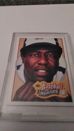 Upper Deck Baseball Heroes #26 *Hank Aaron for Sale in Shelton, CT