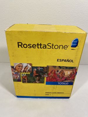 Rosetta Stone Spanish level 1 for Sale in Chula Vista, CA