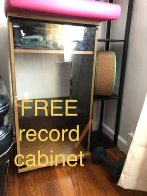 FREE record cabinet for Sale in McKnight, PA