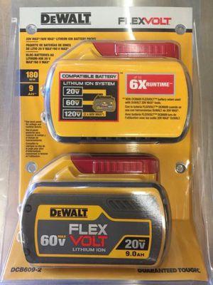 DeWalt flexvolt batteries for Sale in Houston, TX