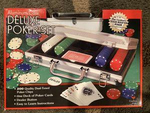 Deluxe Poker Set - Brand New! for Sale in Atlanta, GA