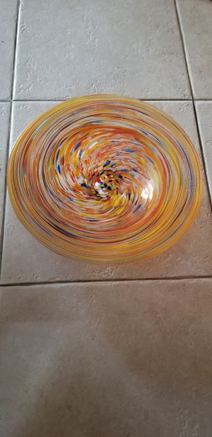 Decorative bowl 16inches for Sale in Norwalk, CA