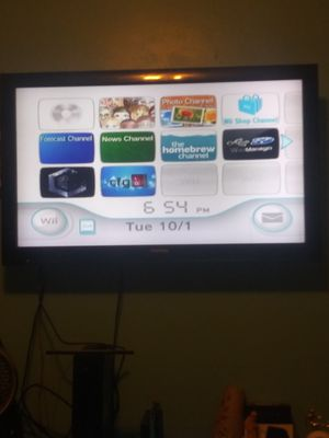 Hacked Black Nintendo Wii for Sale in Riverdale, MD